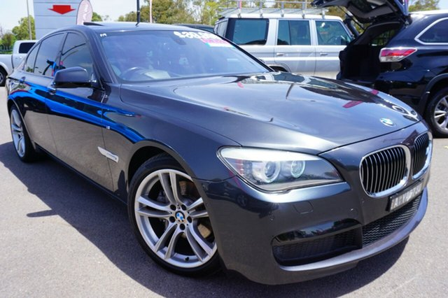 Used BMW 730d F01 MY0911 Steptronic, 2012 BMW 730d F01 MY0911 Steptronic Black 6 Speed Sports Automatic Sedan