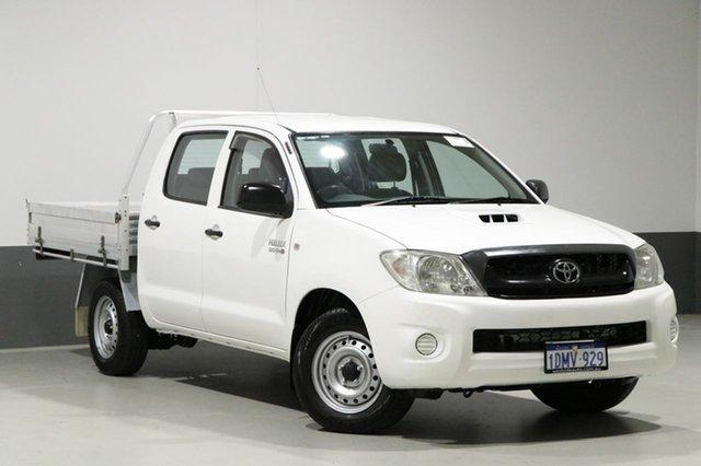 Used Toyota Hilux KUN16R 09 Upgrade SR, 2010 Toyota Hilux KUN16R 09 Upgrade SR White 5 Speed Manual Dual Cab Pick-up