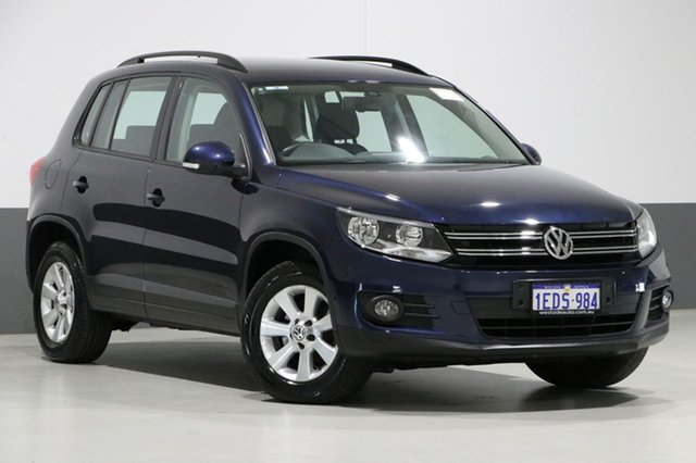 Used Volkswagen Tiguan 5NC MY13 132 TSI Pacific, 2013 Volkswagen Tiguan 5NC MY13 132 TSI Pacific Blue 6 Speed Automatic Wagon