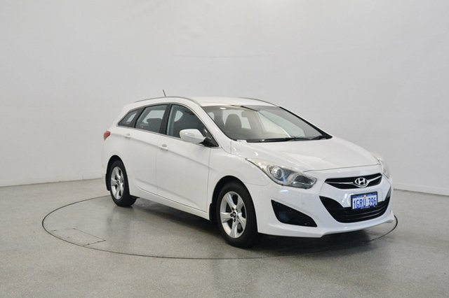 Used Hyundai i40 VF2 Active Tourer, 2014 Hyundai i40 VF2 Active Tourer White 6 Speed Sports Automatic Wagon