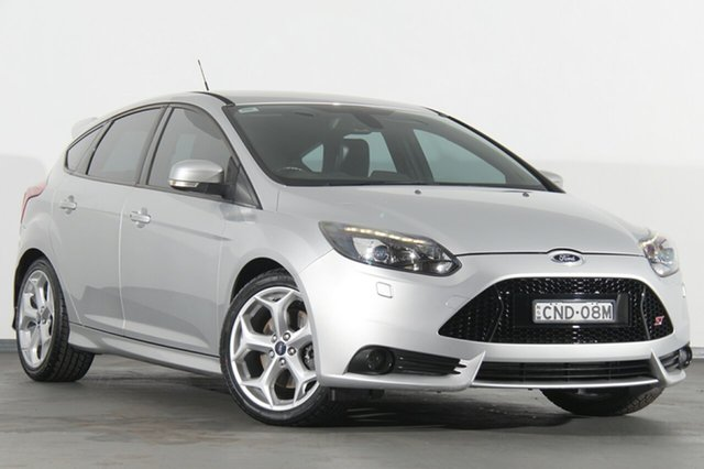 Used Ford Focus LW MKII ST, 2013 Ford Focus LW MKII ST Silver 6 Speed Manual Hatchback