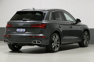 2017 Audi SQ5 FY MY18 3.0 TFSI Quattro Daytona Grey 8 Speed Automatic Tiptronic Wagon