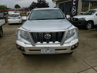 2015 Toyota Landcruiser Prado GDJ150R GXL Silver 6 Speed Sports Automatic Wagon.