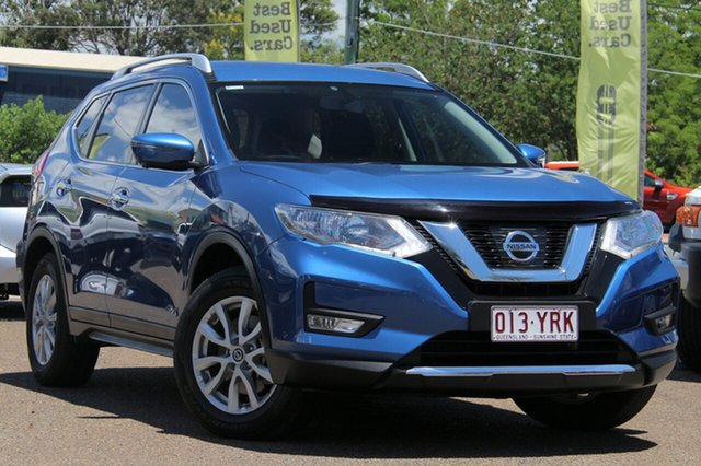 Used Nissan X-Trail T32 ST-L X-tronic 2WD, 2017 Nissan X-Trail T32 ST-L X-tronic 2WD Blue 7 Speed Constant Variable Wagon