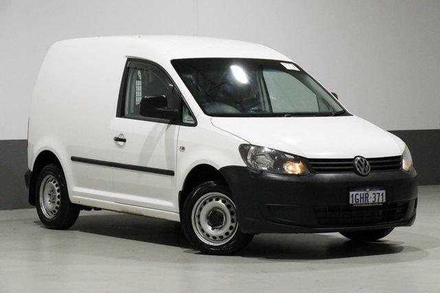 Used Volkswagen Caddy 2K MY13 TSI160, 2014 Volkswagen Caddy 2K MY13 TSI160 White 5 Speed Manual Van