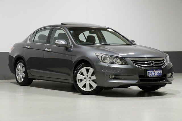 Used Honda Accord 50 MY12 V6-L, 2013 Honda Accord 50 MY12 V6-L Grey 5 Speed Automatic Sedan