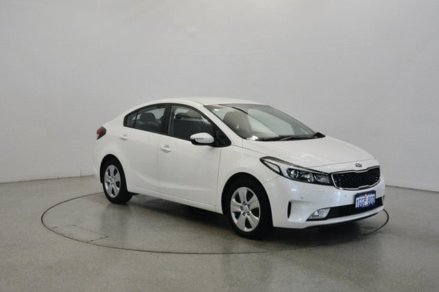 Used Kia Cerato YD MY17 S, 2017 Kia Cerato YD MY17 S White 6 Speed Sports Automatic Sedan