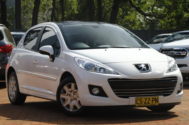 Used Peugeot 207 A7 Series II MY11 XT, 2011 Peugeot 207 A7 Series II MY11 XT White 4 Speed Sports Automatic Hatchback