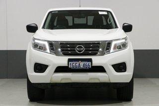 2017 Nissan Navara D23 Series II SL (4x4) White 6 Speed Manual Dual Cab Utility.