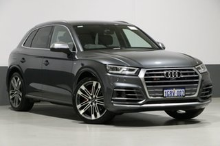 2017 Audi SQ5 FY MY18 3.0 TFSI Quattro Daytona Grey 8 Speed Automatic Tiptronic Wagon.