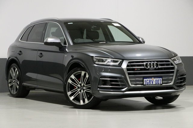 Used Audi SQ5 FY MY18 3.0 TFSI Quattro, 2017 Audi SQ5 FY MY18 3.0 TFSI Quattro Daytona Grey 8 Speed Automatic Tiptronic Wagon