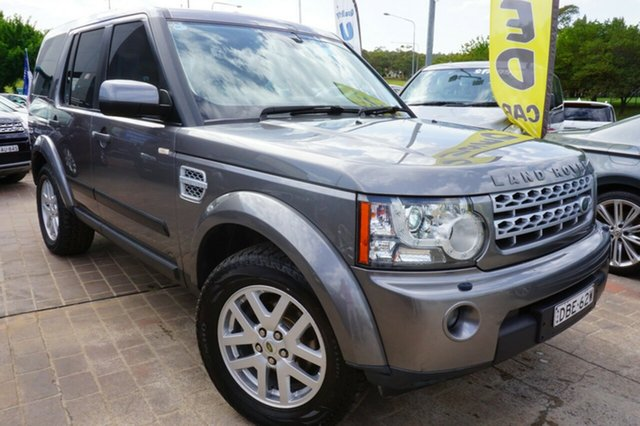 Used Land Rover Discovery 4 Series 4 MY11 TdV6 CommandShift, 2011 Land Rover Discovery 4 Series 4 MY11 TdV6 CommandShift Grey 6 Speed Sports Automatic Wagon