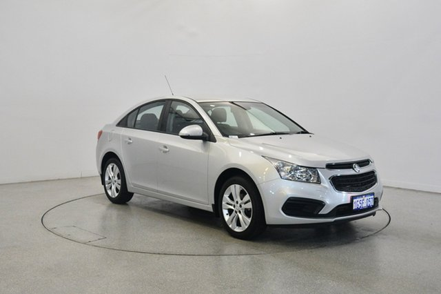 Used Holden Cruze JH Series II MY15 Equipe, 2015 Holden Cruze JH Series II MY15 Equipe Silver 6 Speed Sports Automatic Sedan