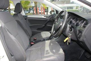 2013 Volkswagen Golf VII 90TSI DSG Comfortline White 7 Speed Sports Automatic Dual Clutch Hatchback
