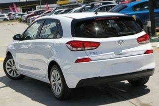 2018 Hyundai i30 PD MY19 Go Polar White 6 Speed Sports Automatic Hatchback.