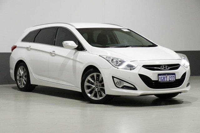 Used Hyundai i40 VF 2 Upgrade Elite, 2014 Hyundai i40 VF 2 Upgrade Elite White 6 Speed Automatic Wagon