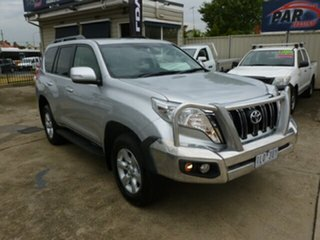 2015 Toyota Landcruiser Prado GDJ150R GXL Silver 6 Speed Sports Automatic Wagon