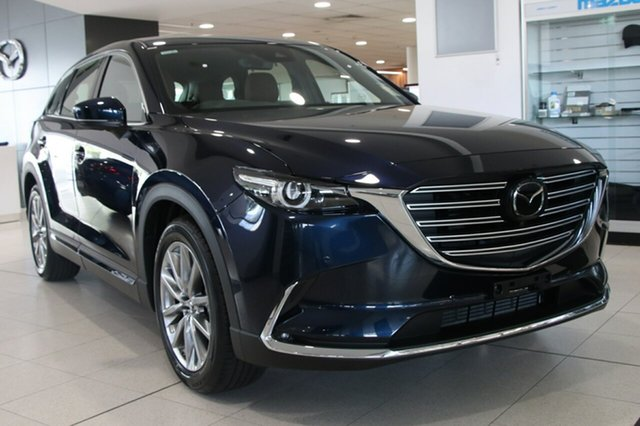 New Mazda CX-9 TC Azami SKYACTIV-Drive i-ACTIV AWD LE, 2018 Mazda CX-9 TC Azami SKYACTIV-Drive i-ACTIV AWD LE Deep Crystal Blue 6 Speed Sports Automatic
