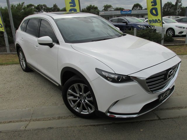 Used Mazda CX-9 TC GT SKYACTIV-Drive i-ACTIV AWD, 2016 Mazda CX-9 TC GT SKYACTIV-Drive i-ACTIV AWD White 6 Speed Sports Automatic Wagon