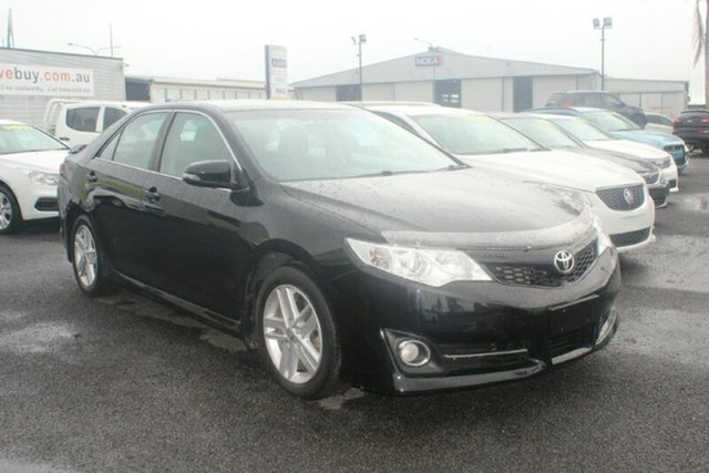 Used Toyota Camry ASV50R Atara R, 2013 Toyota Camry ASV50R Atara R Black 6 Speed Sports Automatic Sedan