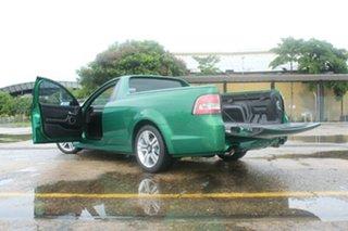 2010 Holden Ute VE II SV6 Green 6 Speed Manual Utility.