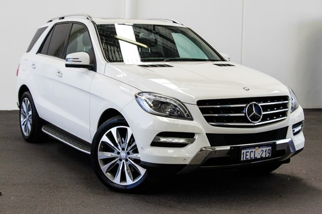Used Mercedes-Benz ML350 CDI BlueTEC 166 4x4, 2013 Mercedes-Benz ML350 CDI BlueTEC 166 4x4 White 7 Speed Automatic Wagon