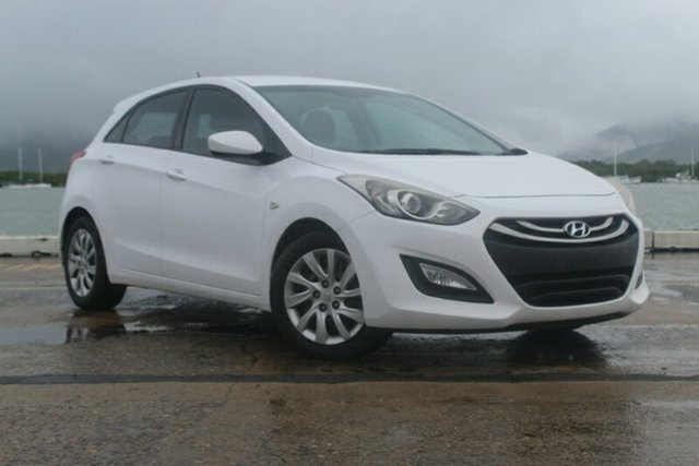 Used Hyundai i30 GD2 Active, 2014 Hyundai i30 GD2 Active White 6 Speed Sports Automatic Hatchback