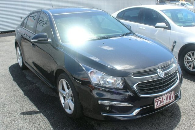 Used Holden Cruze JH Series II MY15 SRi-V, 2015 Holden Cruze JH Series II MY15 SRi-V Black 6 Speed Manual Sedan