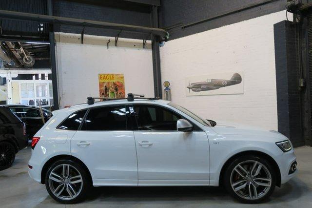 Used Audi SQ5 8R MY14 TDI Tiptronic Quattro, 2013 Audi SQ5 8R MY14 TDI Tiptronic Quattro White 8 Speed Sports Automatic Wagon