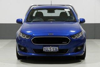 2014 Ford Falcon FG X XR6 Blue 6 Speed Auto Seq Sportshift Cab Chassis.