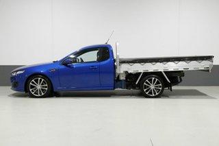 2014 Ford Falcon FG X XR6 Blue 6 Speed Auto Seq Sportshift Cab Chassis