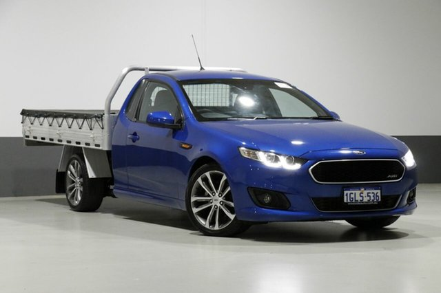 Used Ford Falcon FG X XR6, 2014 Ford Falcon FG X XR6 Blue 6 Speed Auto Seq Sportshift Cab Chassis