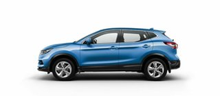 2018 Nissan Qashqai J11 Series 2 ST X-tronic Vivid Blue 1 Speed Constant Variable Wagon