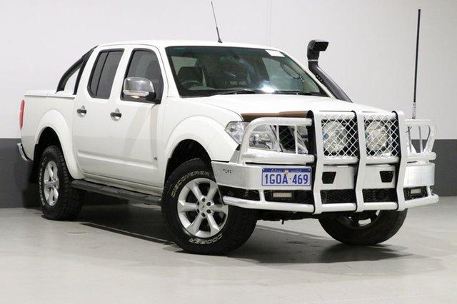 Used Nissan Navara D40 ST-X 550 (4x4), 2011 Nissan Navara D40 ST-X 550 (4x4) White 7 Speed Automatic Dual Cab Utility