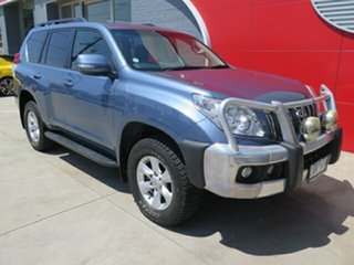 2013 Toyota Landcruiser Prado KDJ150R GXL Blue 5 Speed Sports Automatic Wagon