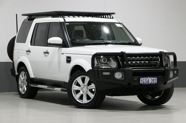 Used Land Rover Discovery MY15 3.0 SDV6 SE, 2015 Land Rover Discovery MY15 3.0 SDV6 SE White 8 Speed Automatic Wagon