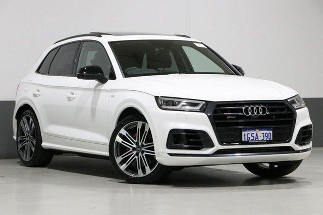 Used Audi SQ5 FY MY18 3.0 TFSI Quattro, 2018 Audi SQ5 FY MY18 3.0 TFSI Quattro White 8 Speed Automatic Tiptronic Wagon