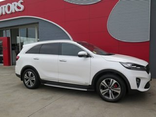 2018 Kia Sorento UM MY19 GT-Line AWD Snow White Pearl 8 Speed Sports Automatic Wagon