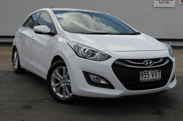 Used Hyundai i30 GD MY14 Elite, 2014 Hyundai i30 GD MY14 Elite White 6 Speed Sports Automatic Hatchback