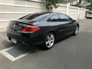 2006 Peugeot 407 Black 6 Speed Sports Automatic Coupe