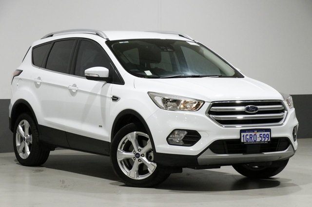 Used Ford Escape ZG MY18 Trend (AWD), 2018 Ford Escape ZG MY18 Trend (AWD) White 6 Speed Automatic Wagon