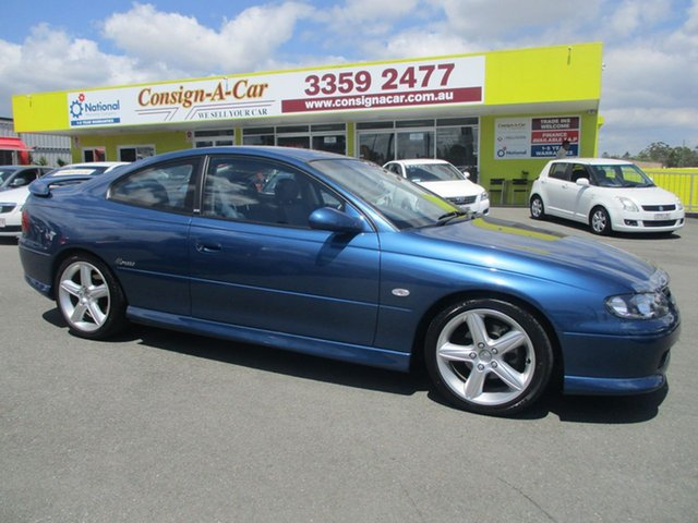 Used Holden Monaro V2 CV8, 2002 Holden Monaro V2 CV8 Delft 4 Speed Automatic Coupe