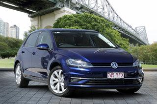 2017 Volkswagen Golf VII MY17 110TSI DSG Highline Blue 7 Speed Sports Automatic Dual Clutch.