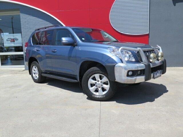 Used Toyota Landcruiser Prado KDJ150R GXL, 2013 Toyota Landcruiser Prado KDJ150R GXL Blue 5 Speed Sports Automatic Wagon