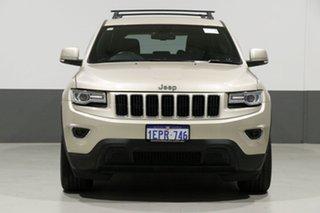 2014 Jeep Grand Cherokee WK MY14 Laredo (4x4) Champagne 8 Speed Automatic Wagon.