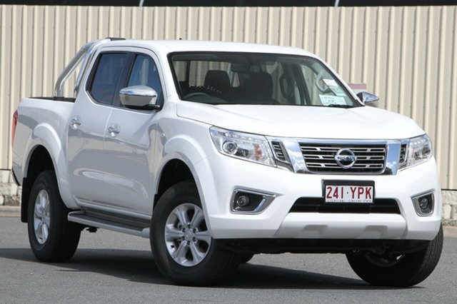 Demo Nissan Navara D23 S3 ST, 2018 Nissan Navara D23 S3 ST Polar White 7 Speed Sports Automatic Utility