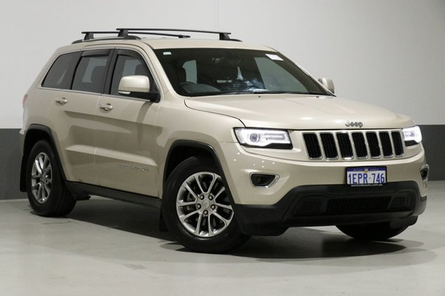 Used Jeep Grand Cherokee WK MY14 Laredo (4x4), 2014 Jeep Grand Cherokee WK MY14 Laredo (4x4) Champagne 8 Speed Automatic Wagon