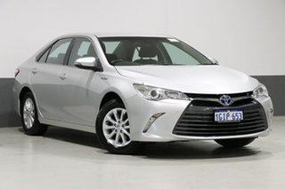 2017 Toyota Camry AVV50R MY16 Altise Hybrid Silver Continuous Variable Sedan.