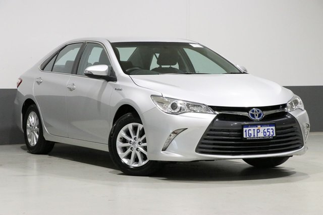 Used Toyota Camry AVV50R MY16 Altise Hybrid, 2017 Toyota Camry AVV50R MY16 Altise Hybrid Silver Continuous Variable Sedan