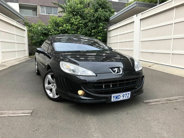 Used Peugeot 407  , 2006 Peugeot 407 Black 6 Speed Sports Automatic Coupe